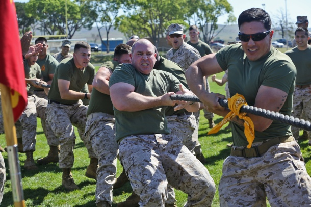 Fun in the Sun: Camp Pendleton H&S Battalion conducts Field Meet